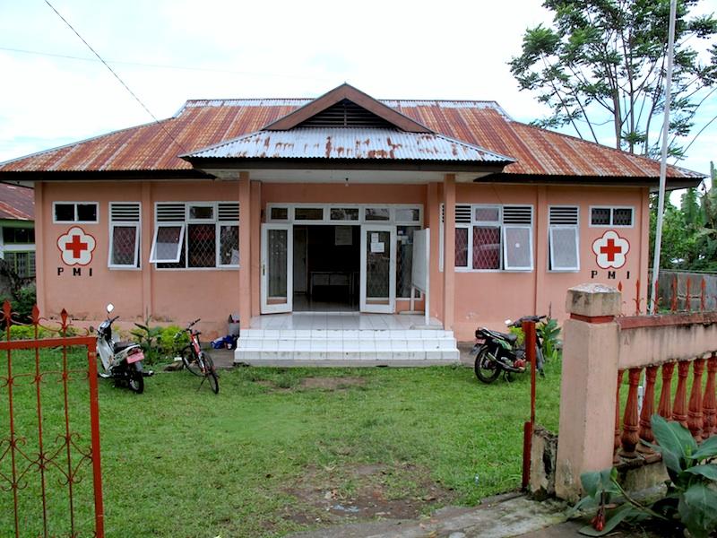 Das Gebäude des Kreisverbands Curup